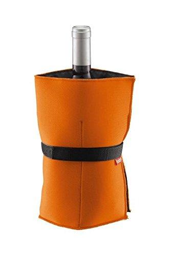 Bodum 11137–106 Nero Weinkühler mit Gelbeuteln orange