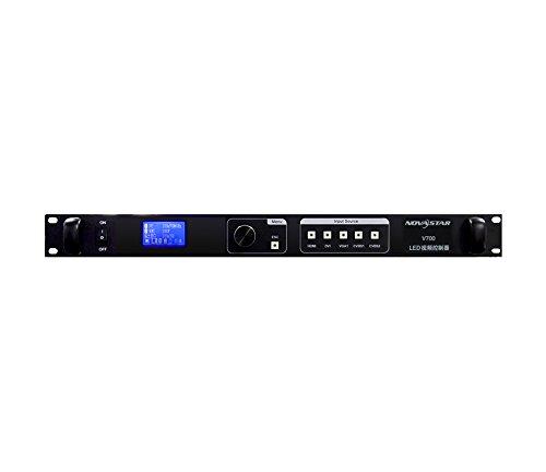 Novastar v700 soporte de desvanecimiento en fundido fuera led a todo color procesadores de vídeo led pantalla incluyendo envío de tarjeta HD