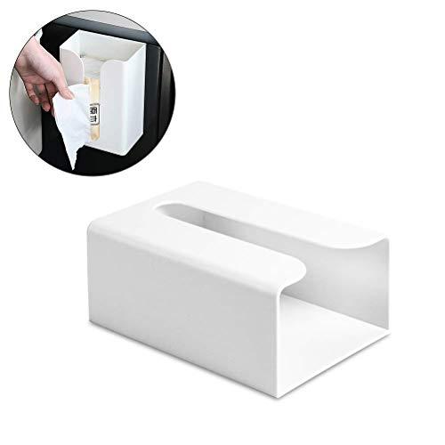 HapHomeSHOP Keuken Toiletpapier Houder Plastic Tissue Rolls Stand Dispenser Muurmontage Zelfklevend Zonder Boren Waterdicht Stofdicht Voor Badkamer Thuis, Commerciële Hotel, Badkamer