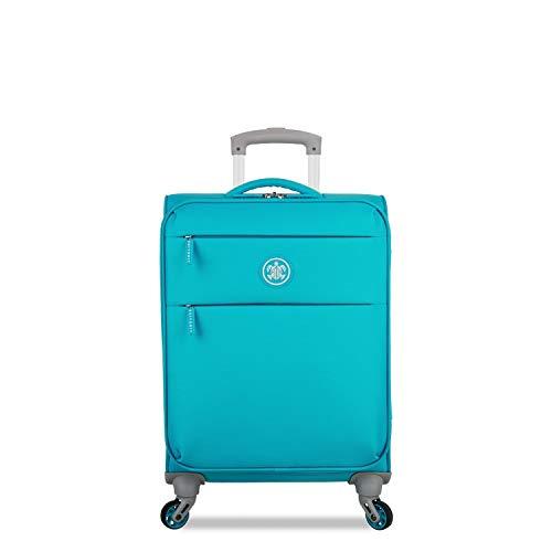 SUITSUIT - Caretta - Handbagagekoffer Soft - 53 cm - Peppy Blue