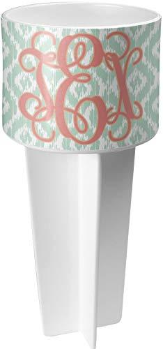 RNK Shops Monogram White Beach Spiker Drink Holder (Personalized)