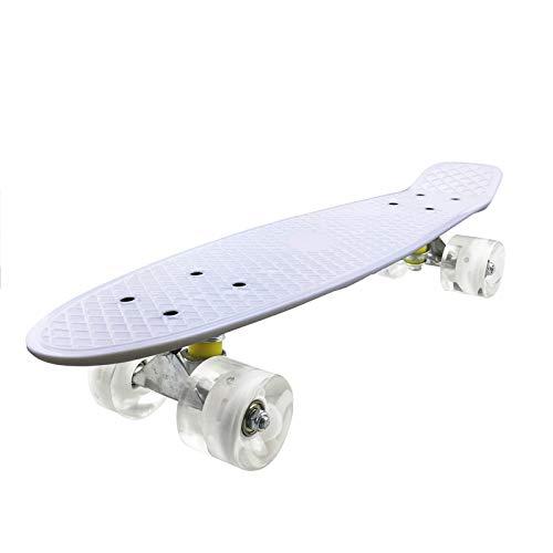 Penny Board - Mini Cruiser Skateboard para principiantes, 22', panel Pp Child Penny Board para deportes al aire libre