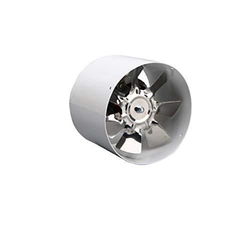 Extractor De Aire, Extractor Cocina Ventilador de escape de invernadero, fanvent de alta velocidad Metal de metal de 4 pulgadas Conducción en línea Ventilación de escape Control de ventilación Accesor