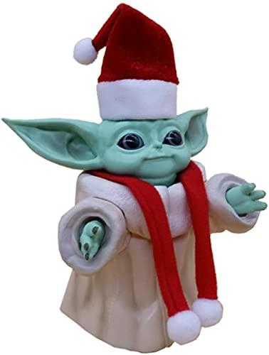 WangMaZi Pop Star Wars Star Wars Yoda película Animación Comics Figura muñeca Adornos Colección 13CM-UN