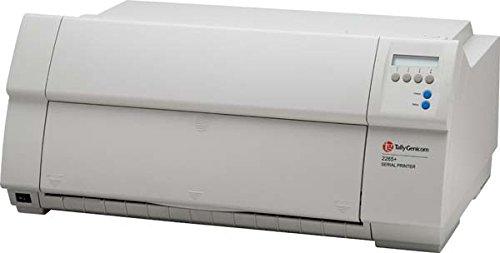 TallyGenicom 2280+ Puntmatrixprinter 360 dpi, 1000 tekens per seconde, matrixprinter (360 x 360 dpi, 1000 tekens per seconde, 20 tekens per inch, 5 kopieën, bidirectioneel, 128 KB)
