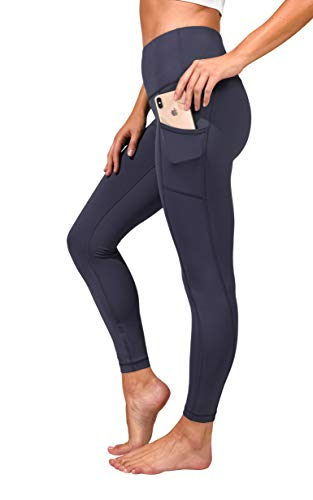 90 Degree By Reflex High Waist Tummy Control Interlink Squat Proof Ankle Length Leggings -...