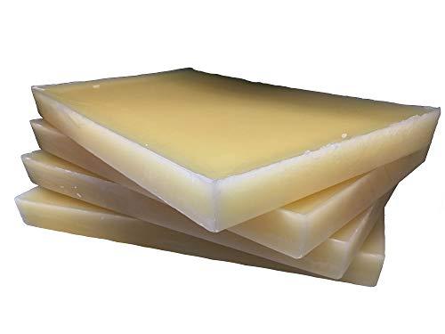 20 kg Rupfwachs, rein in Tafeln, 5 kg je Platte, zum leichten Rupfen von Geflügel