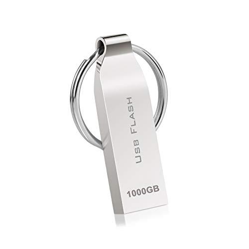 Kaulery Memoria USB 1TB Mini Pen Drive Impermeable Disco...