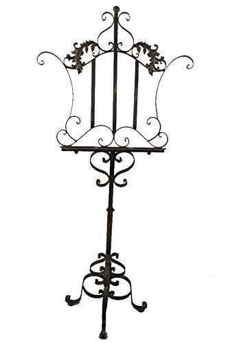 linoows Notenständer, Speisekartenständer, Buchständer im Barock-Stil, Antiker Ständer