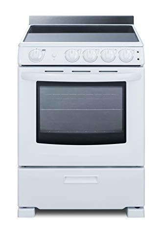 Summit REX2421WRT 24 Inch Wide 2.9 Cu. Ft. Free Standing Electric Range - 37' Tall