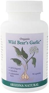 Arizona Natural Resource Wild Bear's Garlic Capsules, 235 Mg, 90 Count