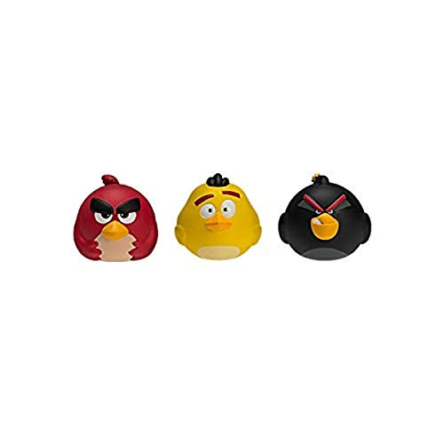 Angry Birds Splat 3-Pack (Red, Bomb, and Chuck)