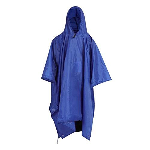 Kadimendium Impermeable de Ciclismo al Aire Libre como toldo toldo como Almohadilla de Camping para Escalada para Ciclismo(Blue)