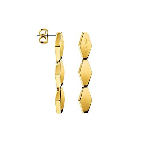 Calvin Klein Orecchini a pendolo e goccia Donna acciaio_inossidabile - KJ5DJE100100
