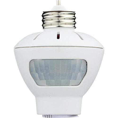 motion activated light controls Westek MLC166BC Indoor Motion-Sensing Light Control, White