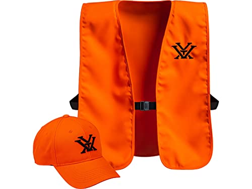 Vortex Optics Blaze Orange Vest & Hunting Hat Combo