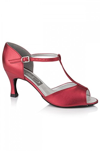 Freed of London Jade Damen Tanzschuhe 8 Rot