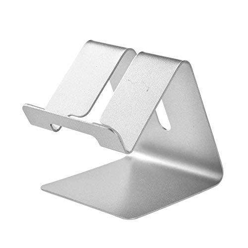 Iwinna Soporte para tableta, soporte para teléfono de escritorio, soporte universal plegable de aluminio para iPhone 11 Pro XR X XS 8 7 6 Plus, Nintendo Switch, Huawei, para Samsung S7 S8 S9 S10