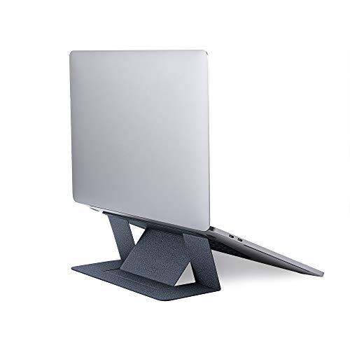 MOFT【ブランド ストア】パソコンスタンド pcスタンド 目立たない 超薄型 ラップトップスタンド 粘着タイプ 繰り返し利用可能 完璧な角度調整可能 15.6インチのPCまで対応