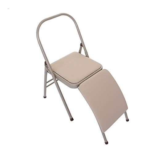 Best Prices! Folding Yoga Chair, Yoga Inverted Trainer, 36.3 MM Widened Lumbar Support - Detachable,...