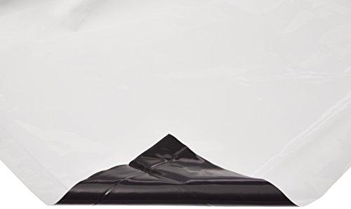 Hydrofarm ABWP1 Black & White Poly, 10' x 10', 5.5 mil, 5-1/2 mm