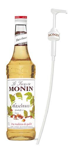 Monin Sirup Haselnuss 0,7l inkl. Dosierpumpe
