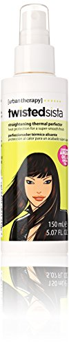 Urban Therapy Twisted Sista Straightening Thermal Perfector Spray, 5.07 Ounce