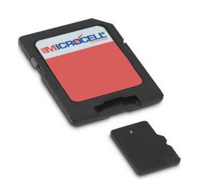 Microcell SD 32GB Speicherkarte / 32 gb Micro sd Karte für Sony Xperia Z1 Compact (D5503)