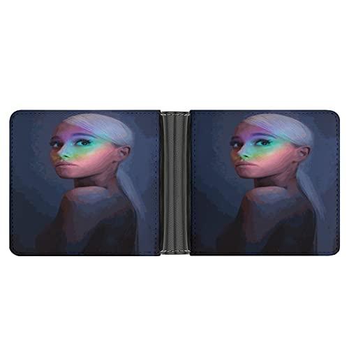 Ariana Grande Pochette portefeuille en cuir PU pour cartes de crédit, espèces, etc