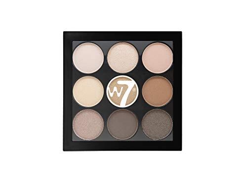 W7   Eyeshadow Palette   The Naughty Nine Eye Colour Compact - Arabian Nights   9 Shades