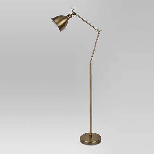 Industrial Task Floor Lamp Brass  - Threshold™