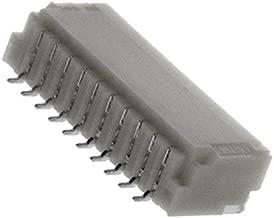 CONN HEADER SMD R/A 10POS 1MM, (Pack of 3000) (SM10B-SRSS-TB(LF)(SN))