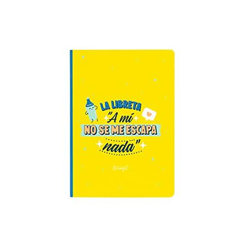 Mr. Wonderful Libreta de pegatinas y notas adhesivas'a mí no se me escapa nada', WOA11060ES