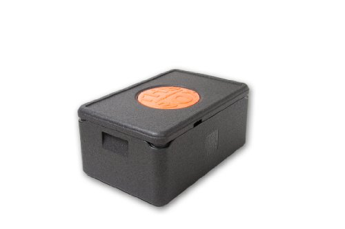 EPP Box GN 1/1 ABM 60 x 40 x 27,5 cm Thermobox Warmhaltebox Isolierbox SCHWARZ