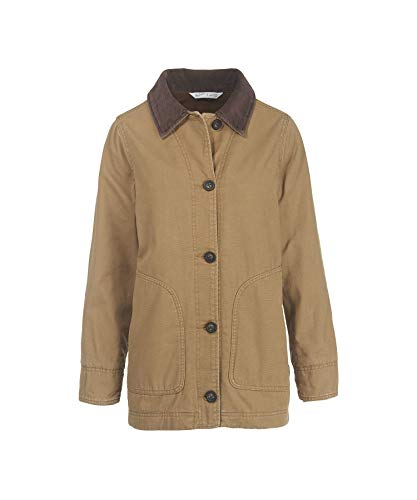 Woolrich Women's Dorrington Barn Jacket, Sediment, X-Large