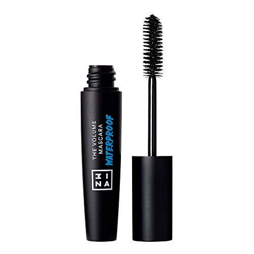 3INA | Maquillage Sans Cruauté | Vegan | Mascara | Longue Tenue |Waterproof | Effet Faux Cils | Recourbant | Volume | Allongeant | The Volume Mascara Waterproof Noir
