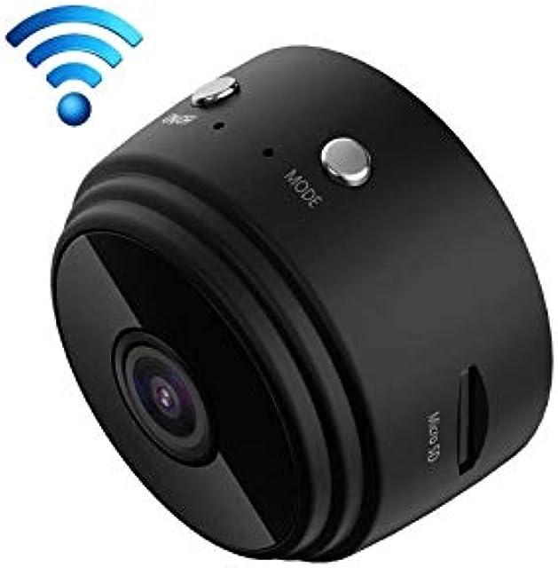 Mini caméra DV dappareil-Photo dIP A9 1080P WiFi détection de mouvement de Soutien et Vision Nocturne infrarouge (Noir)