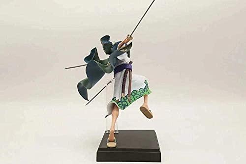 Charakter des Spielzeugs Cartoon Zeichen Anime Figurgk Sofa Thron Pop Mihawk Anime Figure Ornament 23 cm Skulptur Modell Spielzeug Dekoration Statue Cartoon Charakter Handwerk Geburtstagsgeschenk Sam