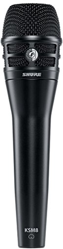 Shure KSM8/B Dualdyne Vocal Microphone - Black