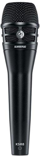 Shure KSM8schwarz dualdyne Stimme Mikrofon mit 2Membranen, dynamisch