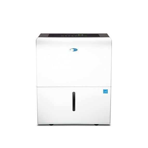 Whynter D Energy Star 30 Pint Portable Dehumidifiers-Elite Series, Multi 7 30 pint/14 liter capacity dehumidifier with 6 pint/2.83 liter removable water bucket including handles and caster wheels for portability Low temp operation (minimum ambient temperature low 40 Degrees), electronic controls with humidity sensor settings, fit for 35-85% relative humidity Auto-restart, auto-shutoff, 24-hour timer, dual fan speed, and auto-defrosting capability to prevent frost build-up inside unit
