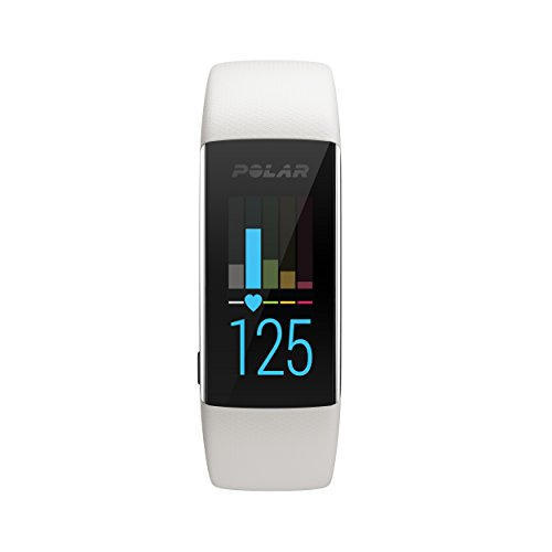 Polar A370 Fitnesstracker, weiß, S