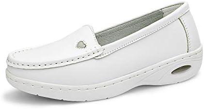 DREAM PAIRS Women s White Nursing Work Restaurant Lightweight Slip On Shoes Size 6 5M US Metro product image