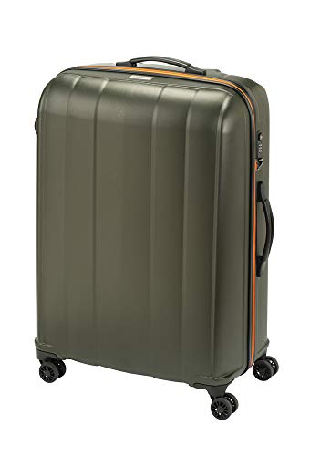 Princess Traveller Montreal Traveller with TSA Lock Laptop Rollkoffer, 107 Liter, Olive Green