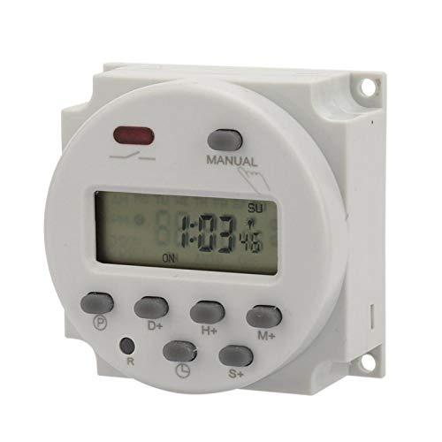 Interruptor pequeño de 7 días para equipos eléctricos(220V AC, pink)