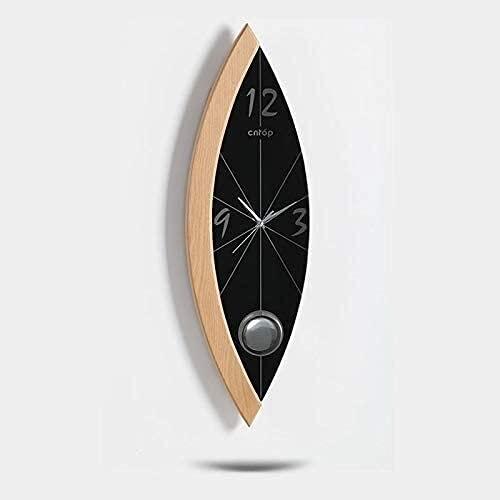 YHQKJ Orologio da Parete Pendolo Orologio, Orologio da Parete Creativo per Ufficio Soggiorno Camera da Letto, Orologio da Parete retrò Europeo
