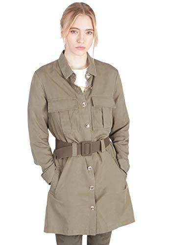 KAPORAL Damen Jacke, gerader Schnitt Gr. Medium, Army-Grün