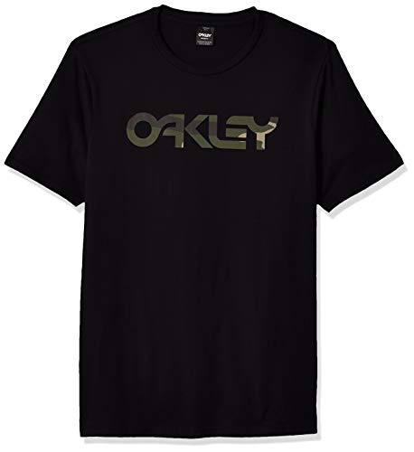 Oakley Mens Mark II Tee Chemise, Blackout, XL Homme