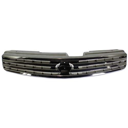For Infiniti G35 Grille Assembly 2003 2004 | Primed Shell & Insert | Sedan | Plastic | IN1200114 | 62070AM600
