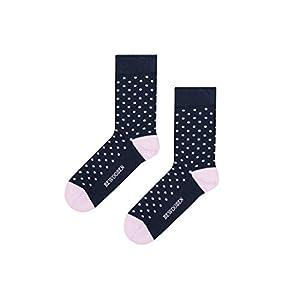 BeWooden Dot Socks | Damen Mit Motiv Sport Blickdicht Baumwolle Socken | Stilvoll & Ökologisch | Handgefertigt im Herzen…